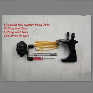 Outdoor laser Shooting Fish Slingshot Shooting  Multifunction Instinct Shooter Shooting Multipurpose
