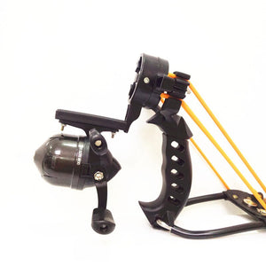 Outdoor Hunter Hunting Fishing Slingshot Shooting Catapult Bow Arrow Rest Bow Sling Shot with Folding Wrist Catapult Crossbow