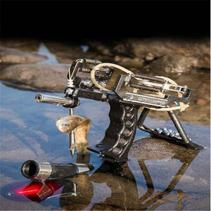 Instructor slingshot Spring High Velocity Catapult Outdoor Red Point Laser Slingshots high-precision laser shooting fish Arrow