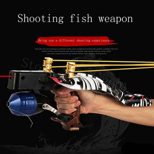 Outdoor laser Shooting Fish Slingshot Shooting Speargun Multifunction Instinct Shooter Shooting Multipurpose