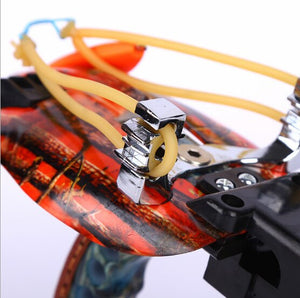 High Quality High Velocity Elastic Hunting Fishing Slingshot Shooting Catapult Bow Arrow Rest Bow Sling Shot Crossbow Bolt