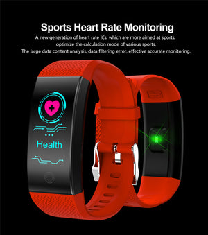 2019 New Men Smar watch Blood pressure heart rate monitor basketball Fitness Tracker Smart Sport Watch Reloj inteligente Watch