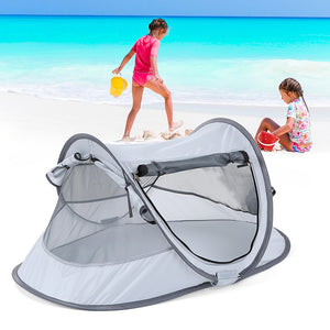Outdoor Camping Children Kid's Beach Canopy Camping Tent Child House toy UV Protection Canopy Sun Shelter Cabana Sunshade