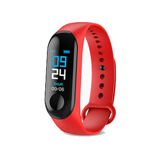 2019 M3X Smart Bracelet Blood Pressure Fitness Tracker IP67 Waterproof Bluetooth Smart Wrist M2 Band For iphone xiaomi smartband
