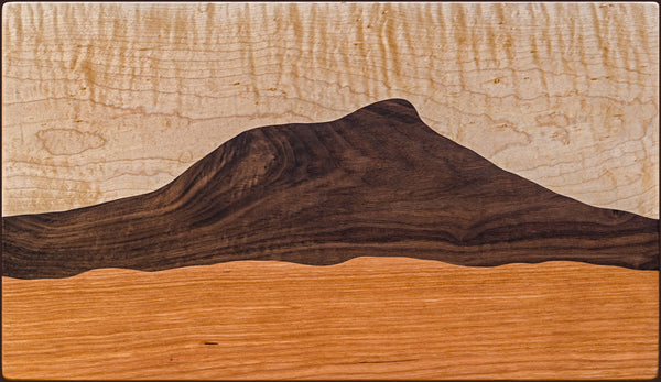 Vermont Camel's Hump Mountain cutting board