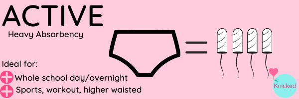 Active Stretch overnight or heavy absorbency