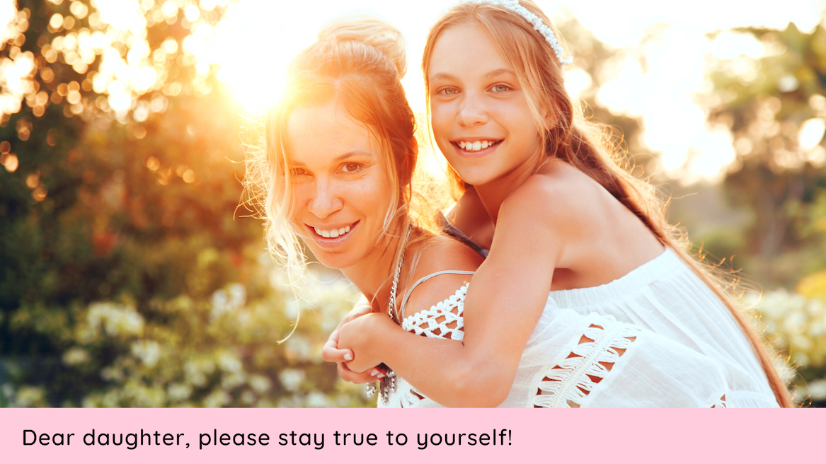 christine stewart open letter to your daughter