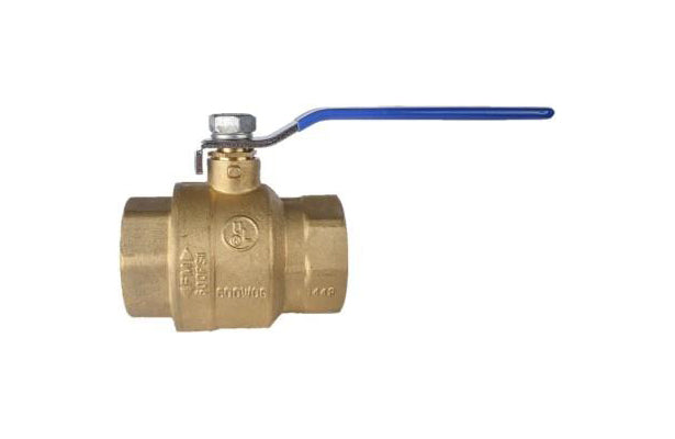 Brass Ball Valve with Safety Vent