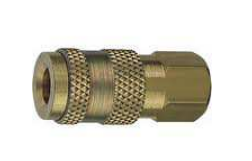 "Industrial Quick Disconnect Couplings Female Coupler-3/8"" Thread"