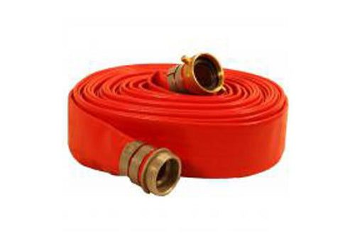 Red Water Discharge Hose-Male x Female Camlocks