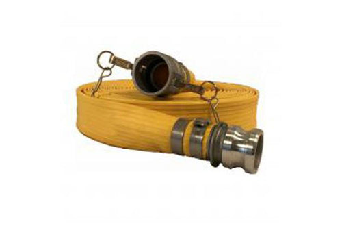 Heavy Duty Yellow Discharge Hose-Male x Female Camlocks