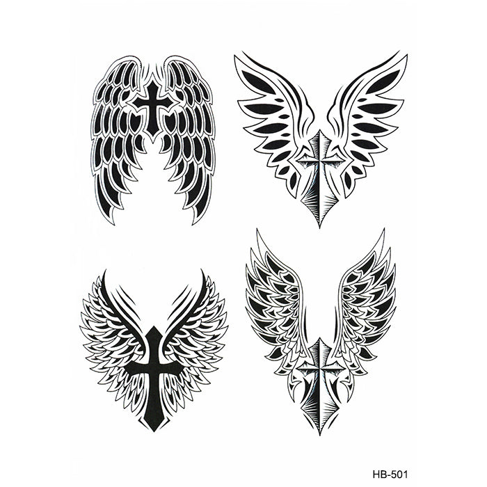 HB501 CHRISTIAN CROSS WINGS PACK