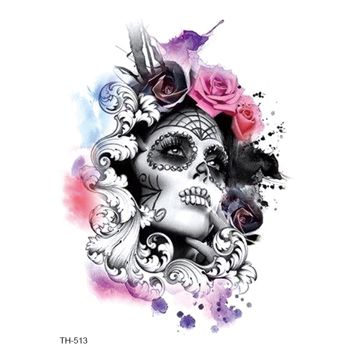 TH513 SANTE MUERTE & ROSE 4