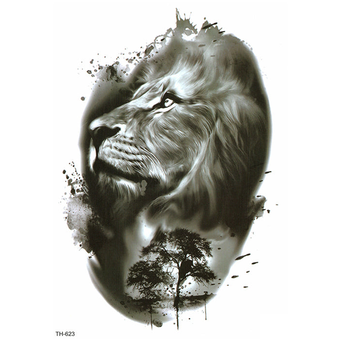 TH623 B&W LION 4