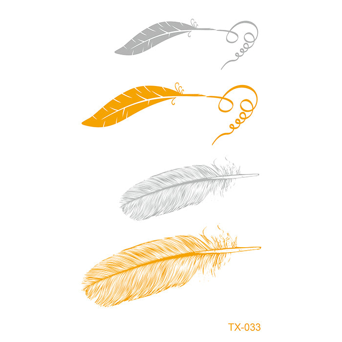 TX033 GOLD FEATHER PACK
