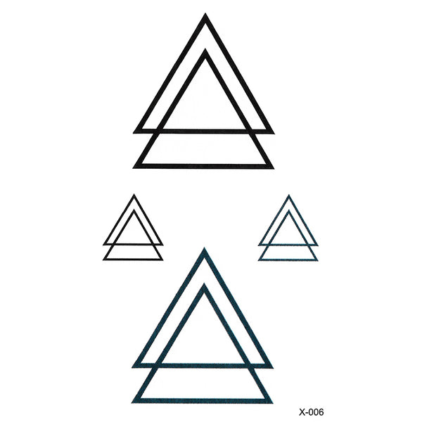 X006 TRIANGLES