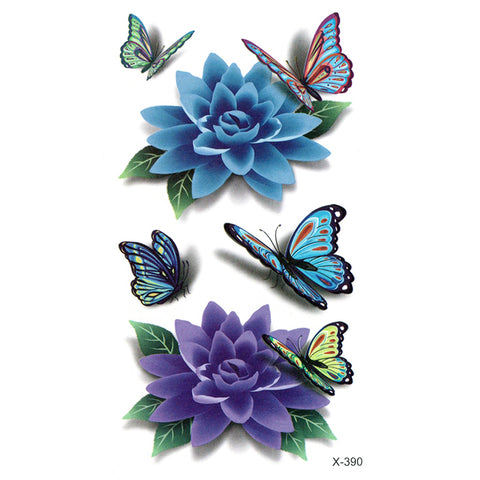 X390 BUTTERFLYS & LOTUS