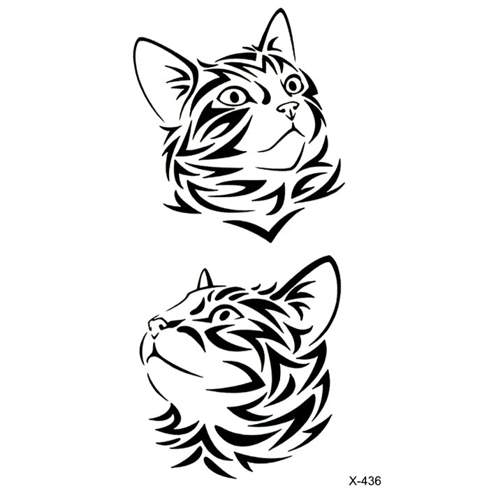 X436 TRIBAL CAT