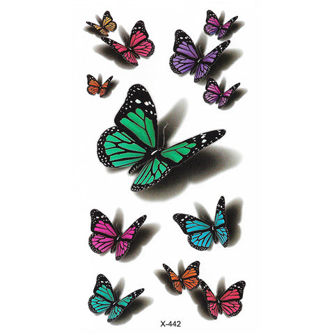 X442 LIL COLOR BUTTERFLY