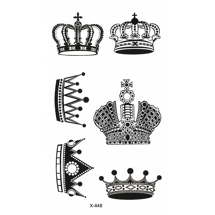 X448 LIL CROWNS PACK 4