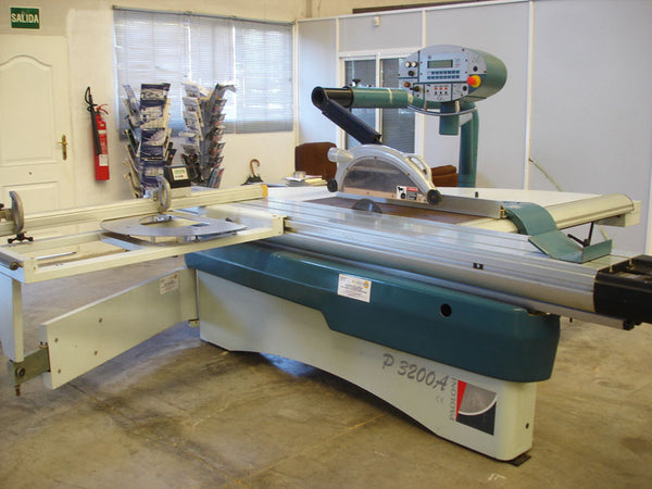 Paoloni 10' Sliding Saw W/Programmable Fence