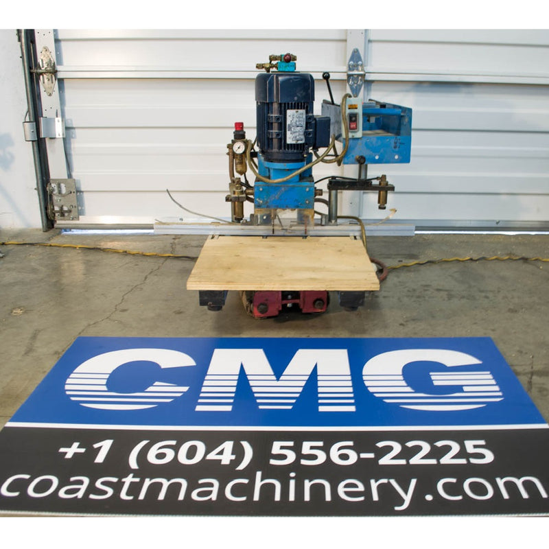 Hettich 1.5HP Hinge Drill - Coast Machinery Group Inc