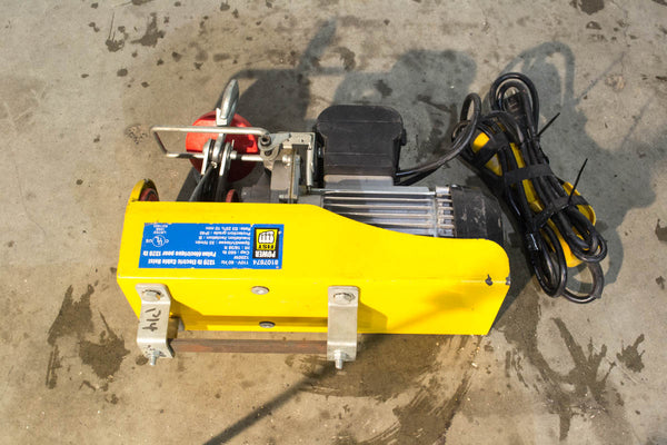 1320lbs Electric Cable Hoist - Coast Machinery Group Inc