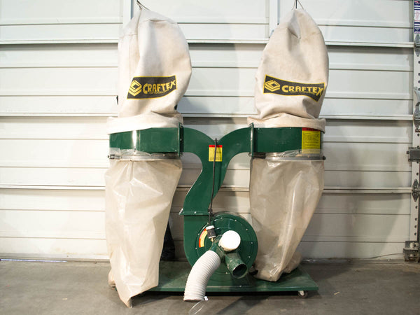 Craftex CT031 Dust Collector - Coast Machinery Group Inc