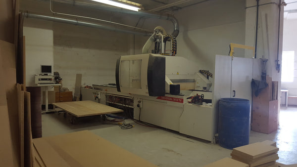 Morbidelli Universal 3012 TV Pod & Rail CNC Work Center - Coast Machinery Group Inc