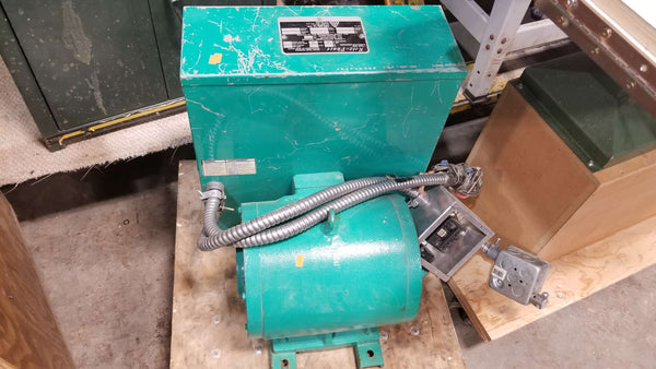 15HP CNC Rotary Phase Converter CA3   Single to Three phase - Coast Machinery Group Inc