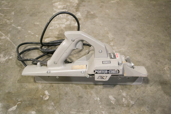 Porter Cable Heavy Duty 126 Portable Planer - Coast Machinery Group Inc