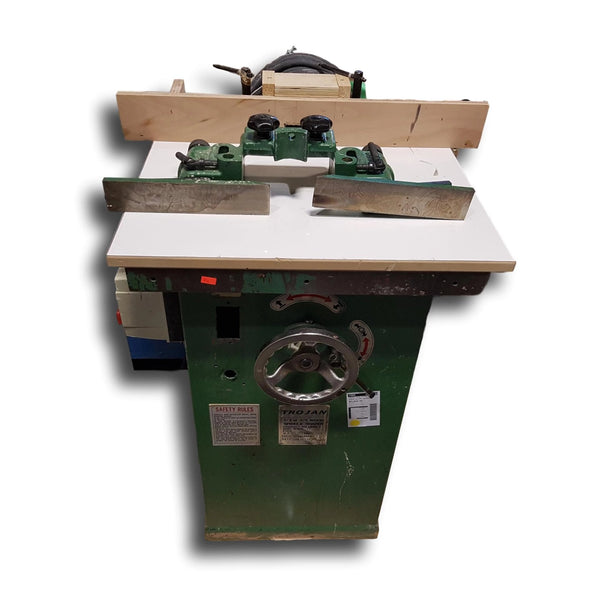 416-8 Trojan WWS-11 1/2 or 3/4 Wood Spindle Shaper