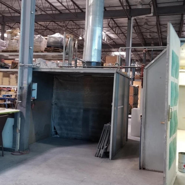 587-26 Open Face 10' Paint Booth