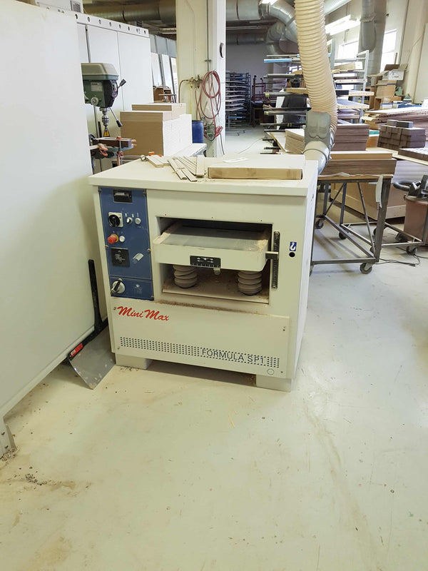 "20"" SCM/Minimax Formula SP 1 Thicknessing Planer - Coast Machinery Group Inc"