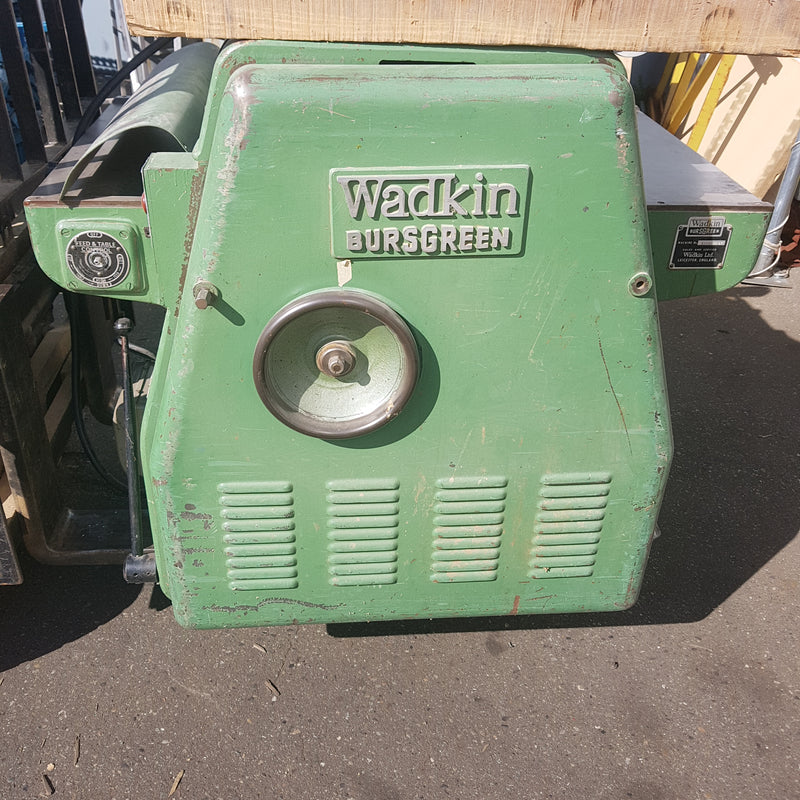 Wadkin Bursgreen Planer - Coast Machinery Group Inc