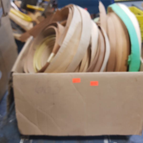 Box Multi Colour And Sizes Of Veneer Edging [variant_sku] - Coast Machinery Group Inc