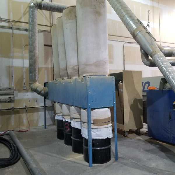 Belfab dust collector - Coast Machinery Group Inc