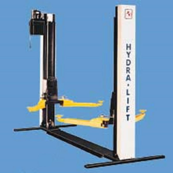 658-855 Hydra Lift Model 27 BP H Beam 2 post, vehicle lift