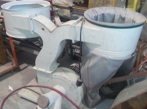 2 Bag Dust Collector - Coast Machinery Group Inc