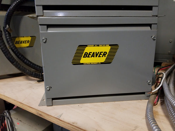 Beaver 10KVA 600V ANN Transformer - Coast Machinery Group Inc
