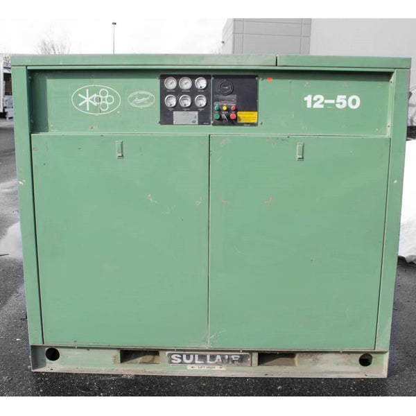 449-2 Sullair 12-50 Air Compressor