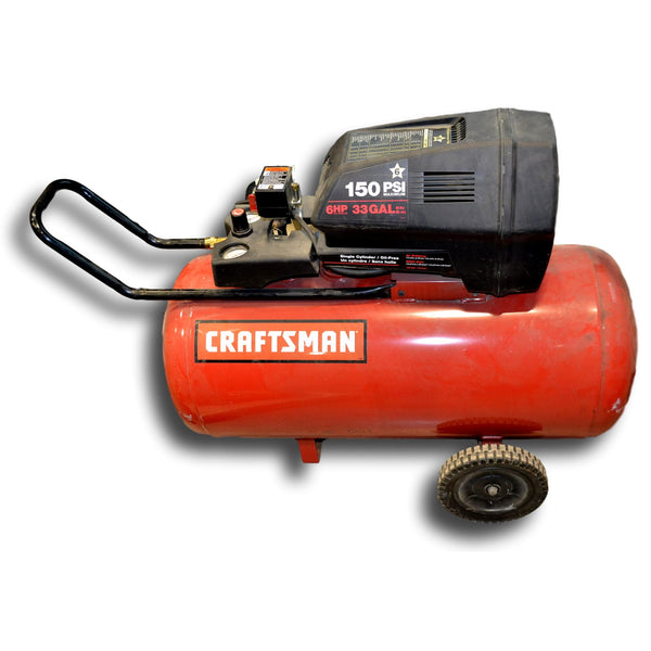 Sears Craftsman 6 HP 33 Gallon Air Compressor - Coast Machinery Group Inc