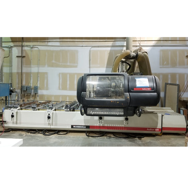 Morbidelli AUTHOR 800 CNC Machining center - Coast Machinery Group Inc