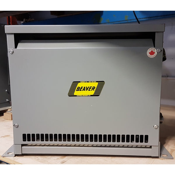 Beaver 15KVA 600V 380Y/220v  ANN Transformer - Coast Machinery Group Inc