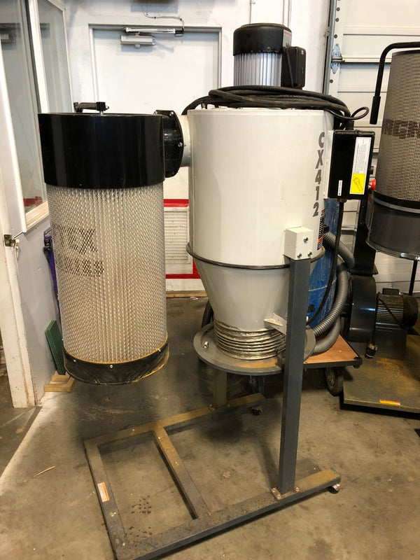 Craftex CX412- 2 HP Cyclone Dust Collector - Coast Machinery Group Inc