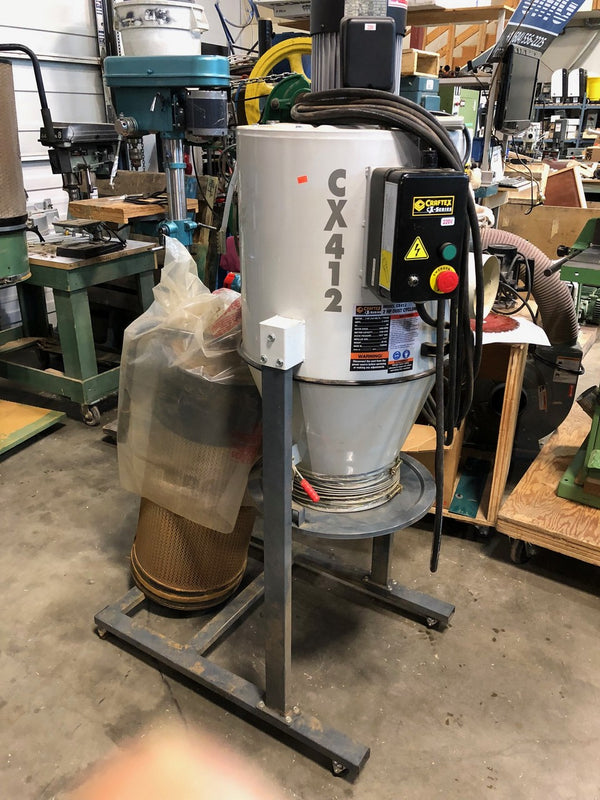 Craftex 2 HP Cyclone Dust Collector CX412 - Coast Machinery Group Inc