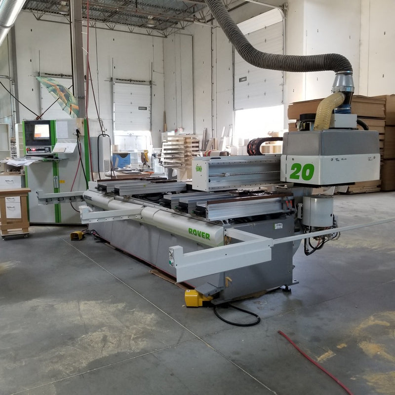 Biesse Rover 20 CNC - Coast Machinery Group Inc