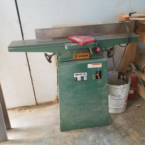 "Canwood 6"" Jointer - Coast Machinery Group Inc"