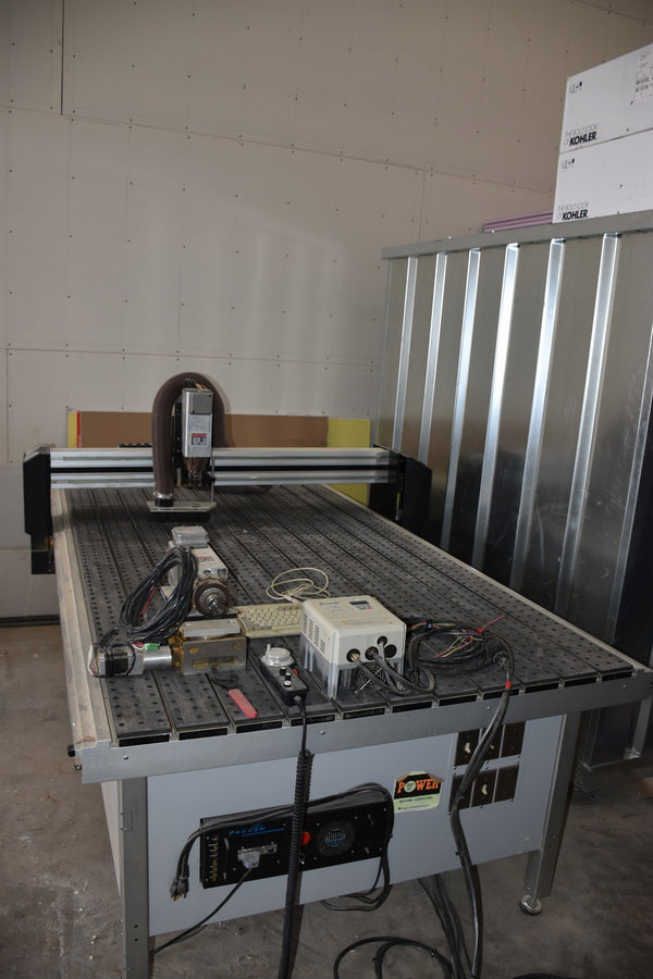 Precix 9100 Series CNC router - Coast Machinery Group Inc