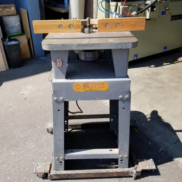 611-1 Rexcut Shaper W/ Stand and Dolly